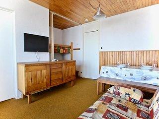 appartement proche des pistes 2 pieces 4 personnes avec vue panoramique vallee.