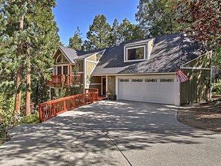 Spacious Lake Arrowhead Home w/ Game Room & Deck!