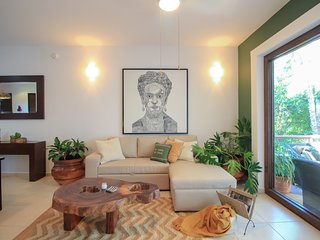 Corner Condo Staged & Inspired in Frida - Akumal