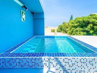 Moon Jacuzzi Villa W/sea View Near Cosy Beach✓