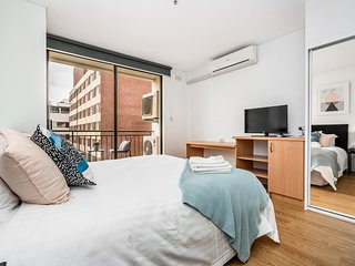 504 Perth Central - perfect location, huge one bedroom fully renovated