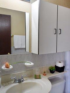 Junior Bathroom with Hot Water.