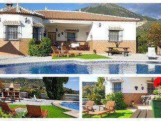Casa Rural en Málaga con Jacuzzi exterior de agua caliente