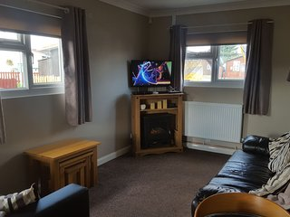 Bridlington seaside large detached chalet  FREE !!!!! WiFi electric and gas