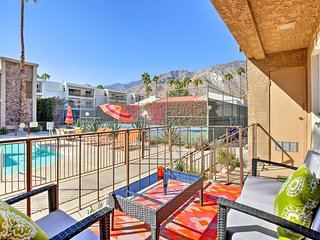 Palm Springs Condo w/ Patio & Pool Access!