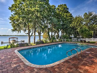 NEW! Winter Haven Home w/ Dock & Hot Tub!