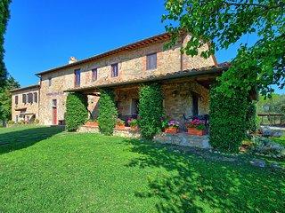 8 bedroom Villa in Montelupo Fiorentino, Tuscany, Italy : ref 5241409