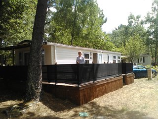 Luxury Mobile Home Holiday Rental.