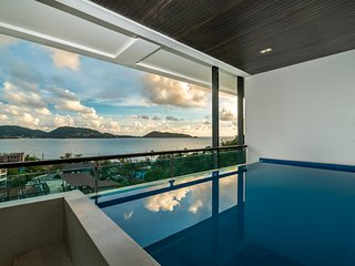 Privilege26 - Seaview plunge pool 3 bedroom luxury apartment on Kalim bay