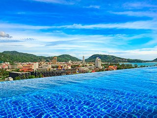 U508 - Bright studio in Patong, rooftop pool and gym