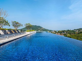The Base Heights - Phuket town convenient luxury one bedroom apartment, pool