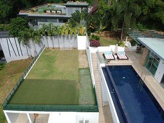 Parinda  - Awesome seaview private pool villa. Basketball, foosball, ping pong