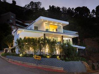 Modern Zen Hillside Home