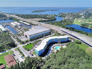 Tropical-style 1/1 Private Condo, 650 sf., only 4 miles to St. Pete Beach!