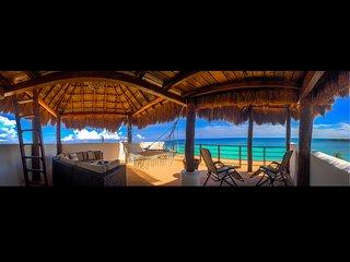 Akumal Beachfront Penthouse w/Infinity Pool, Nahil