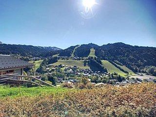 CHANTEMERLE 17C - Belle vue sur les pistes et le village
