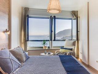 RIBAdoMAR Caión, Apartamento 2º con impresionantes vistas al mar
