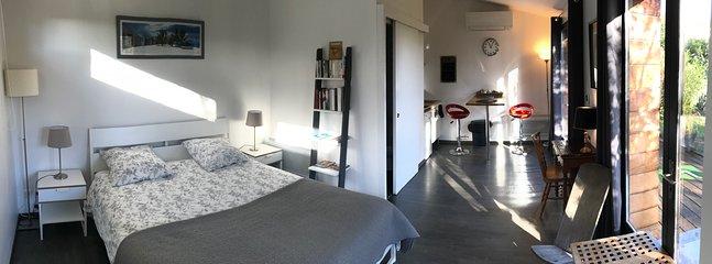 Le studio coté chambre