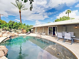 Big 3BR/3BA Scottsdale Getaway w/ Private Pool, Fenced Yard & Game Room