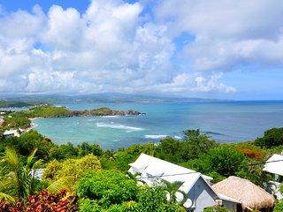 Tartane Appartement Villa Caravelle - superbe vue mer - 4 min à pied de la plage