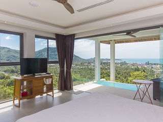 AMAZING SEA VIEW - LAMAI BAY VIEW STUDIO B - 1 BEDROOM