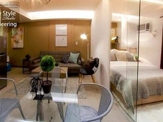 Grand Canal Mall 1BR + Wifi at BGC
