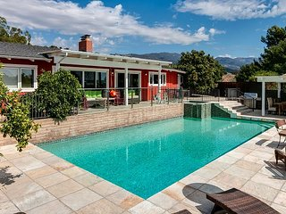 4BR 1-Acre Estate at Base of Santa Ynez Mountains w/ Private Pool & Hot Tub