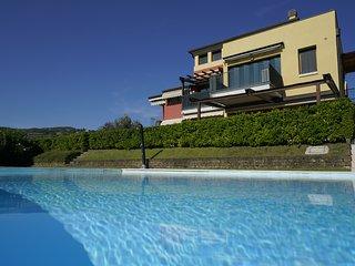 GardaLake GreenChic - vista lago-piscina-giardino-palestra-sauna-vicino al lago
