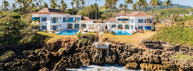 Ultra luxury 6 or 7 Bedroom Cliff Villas**all inclusive