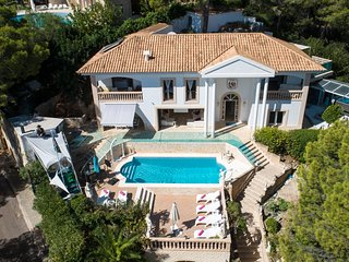 ULTIMATE LUXUARY FAMILY FRIENDLY SEA VIEW VILLA IN PORTALS  SOUTH WEST MALLORCA