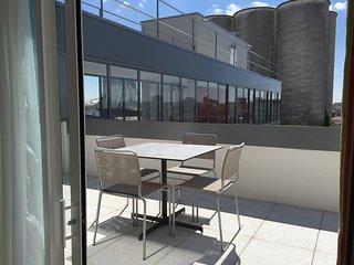 Terrasse privee | Appartement climatise 4p proche du centre, Wi-Fi gratuit
