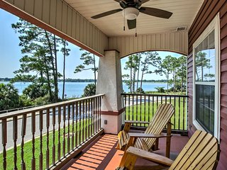 Pensacola Home w/ Covered Porch & Beach Access