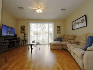 Living Area w/Comfortable Furniture and Flat Screen TV