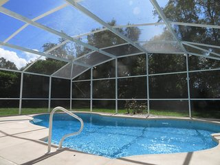 The private south facing pool where you can relax in the Florida sun. The pool is 30 foot x 18 foot