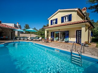 2 bedroom Villa in Kršan, Istria, Croatia : ref 5250949