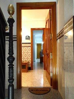 Puesta de entrada al apartamento