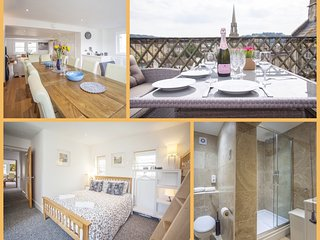 The Roof Garden Retreat Maisonette, Central Bath (BSM)