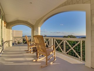NEW LISTING! Coast Guard Beach cottage with ocean views and private pool!