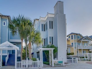 NEW LISTING! Beach cottage with ocean views, rooftop deck, and shared pools!