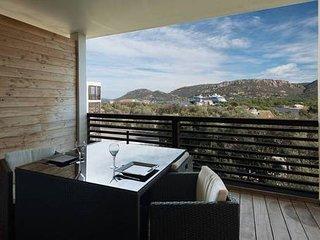 Studio standing pour 2 belle terrasse vue mer pano piscine wifi + Option voiture
