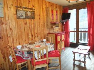 1 bedroom Apartment in Les Menuires, Auvergne-Rhone-Alpes, France : ref 5514183
