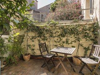 Appartement atypique avec terrasse dans le centre historique