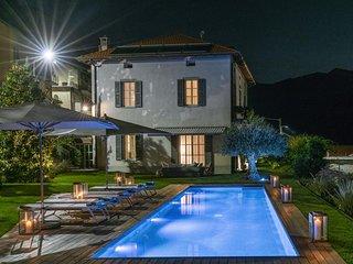 Moltrasio, Villa con piscina e vista lago