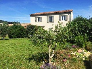 Spacieuse maison avec vue sur le Mont Ventoux