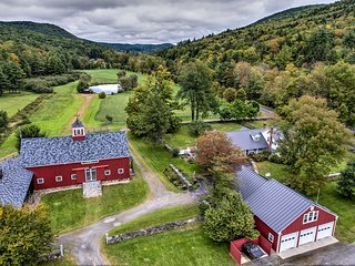 Renovated 1950's Farmhouse on 300 Acres in Grafton