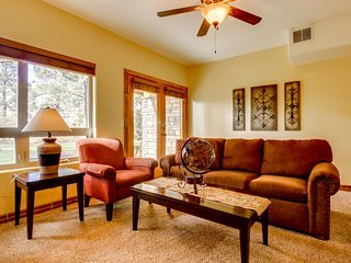 NEW LISTING! Dog-friendly condo near town w/ access to shared hot tub