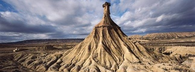 Bardenas Reales Natural Park 20 km from our accommodation