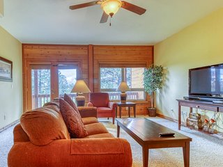 NEW LISTING! Dog-friendly condo w/ shared hot tub & balcony - close to skiing