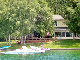 Fabulous Lakefront Home on Lake Blaine near Glacier National Park