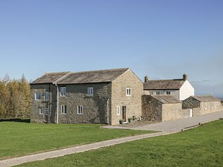 THE STABLES, barn conversion, two double bedrooms, pet-friendly, private patio,